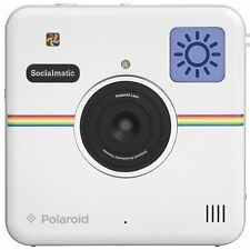 White Socialmatic Camera/Printer, WiFi, great for Instagram, 3 month warranty