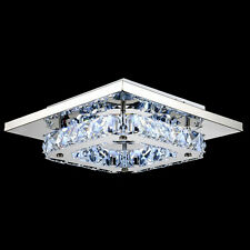 Eco Crystal LED Ceiling Light Pendant Flush Lamp Fixture Dining Room Living