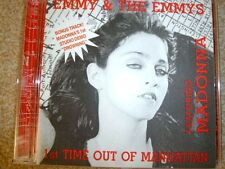Emmy & The Emmys Featuring Madonna ‎– 1st Time Out Of Manhattan : very rare CD