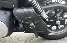 SADDLE BAG SWING ARM BAG FOR DYNA STREET BOB, WIDE GLIDE BEST ITALIAN LEATHER