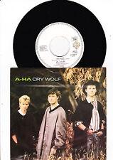 """7"""" A-HA - Cry Wolf --"""