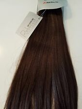 "1 PKG Rebecca 100% REAL Human Hair Italian Silky 16"" #2 Weaving 100G extensions"