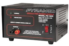 Pyramid PS14KX Power Supply 14 Amp With Protection