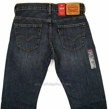 Levis 569 Jeans New Mens Loose Straight SIZE 30 X 30 DARK BLUE Levi's NWT