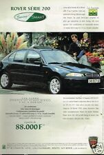 Publicité advertising 1998 Rover Serie 200 Swing & Smart