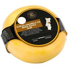 1UN (Whole Ball) 450 gr (+or-) 100% Portuguese SHEEP AND GOAT YELLOW CHEESE