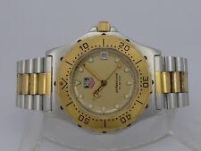 Tag Heuer 3000 Prefessional 200m quartz date GOLD/SS bracelet unisex diver watch