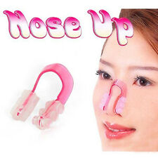 2X Nose UP Silicone Lifting Shaping Bridge Straightening Beautiful Nose Clip