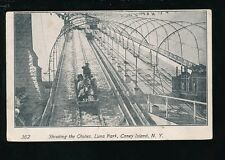 USA New York fair Coney Island LUNA PARK Chutes 1900s u/b PPC faults