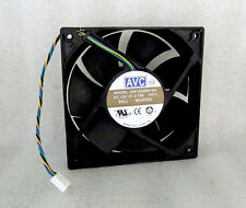 AVC 120mm x 25mm High Airflow PWM Fan 104 CFM 4 Pin Connector DS12025B12H NEW