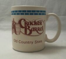 """Vintage CRACKER BARREL Mug Cup """"Old Country Store  Is the Heart Of American"""""""