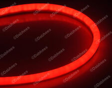Red Flexible TUBE Brake Light Strip DRL LED Tail Light flexi  *NEW*