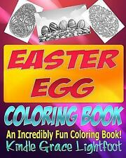 Adult Coloring Books and Coloring Books for Children: The Easter Egg Coloring...