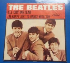 """THE BEATLES """"I'M HAPPY JUST TO DANCE WITH YOU / I'LL CRY INSTEAD""""  PICTURE COVER"""