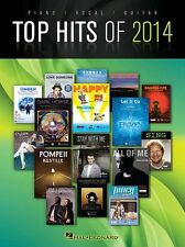 Top Hits Of 2014 Play Chart Songs Pharrell Williams SAM SMITH Piano Music BOOK