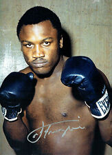 Smokin Joe FRAZIER Signed Autograph Boxer MASSIVE 16x12 Boxing Photo AFTAL COA