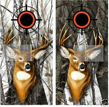 Buck 2 Cornhole Wraps Decals Stickers Free Shipping