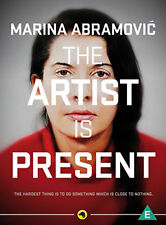 MARINA ABRAMOVIC - THE ARTIST IS PRESENT - DVD - REGION 2 UK