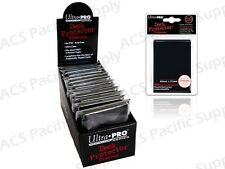 600 ULTRA PRO BLACK DECK PROTECTORS SLEEVES Standard MTG Colors Lot