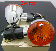 HONDA Z50 MONKEYBIKE CHALY DAX CF70 CT70 ST70 Turn signal Light Indicators Amber