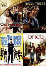 Walk the Line/Crazy Heart/That Thing You Do/Once (DVD, 2015)