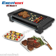 Electric Teppanyaki Table TOP Grill Griddle BBQ Barbecue CAMPING Skillet 1400W