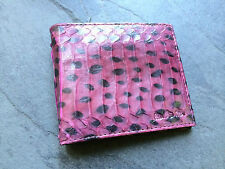 Paul Smith Men Purple - Snake Skin - Billfold - 8 credit card wallet