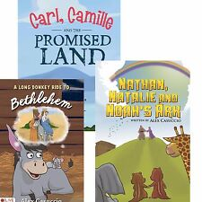 Children's Bible Story Books with Matching Coloring Books