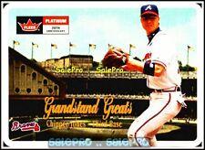 FLEER PLATINUM 2001 CHIPPER JONES MLB ATLANTA BRAVES RARE GRANDSTAND GREATS #GG1