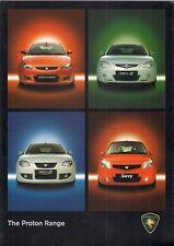 Proton Savvy Satria Neo GEN-2 2009-13 UK Market Sales Brochure