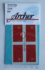 Archer 1/35 Russian Soviet Union Flags Red Banner 1923-1991 (2 flags) AR35018
