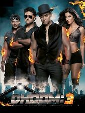 Dhoom 3 - Aamir Khan, Katrina Kaif, Abhishek Bachchan -bollywood hindi movie dvd
