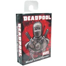 Deadpool Marvel Comics Licensed Metal Bottle Opener