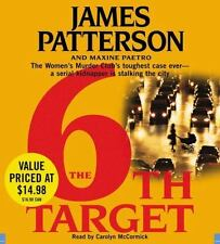 THE 6TH TARGET BY JAMES PATTERSON - GREAT AUDIO BOOK WITH FREE SHIPPING