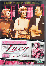 Lucille Ball 'THE LUCY SHOW - 4 CLASSIC EPISODES' V.1 DVD New/Sealed