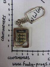 circa 2000's England Three Lions Football Assocaition - Metal Key Ring, With Spi