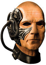 Halloween LifeSize Costume STAR TREK BORG LOCUTUS LATEX DELUXE MASK Haunted Hous
