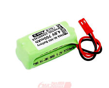 Nickel Metal-Hydride Ni-MH Rechargeable battery 4.8V 700mAh to Model toys 4SX US
