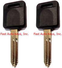 2 NEW SUBARU Replacement Transponder Chipped Key Blank Ignition Chip ID 4D-62