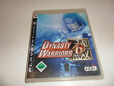 PlayStation 3  PS 3  Dynasty Warriors 6