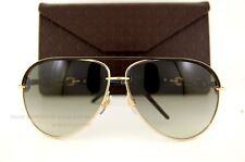 Brand New GUCCI Sunglasses 4225/S WPO AE Black/Gold 100% Authentic