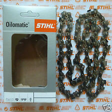 "Two 14"" 35cm OEM Stihl Chainsaw Chain 3/8 1.3 Picco Super 63PS3 50 3616 000 0050"