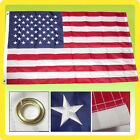 3x5 Ft US American Nylon Deluxe Embroidered Stars Sewn Stripes USA Flag