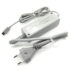 EU Plug AC Power Supply Adapter Cable For Nintendo Wii U Console Gamepad