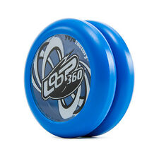 Blue Loop 360 Yo Yo From The YoYoFactory + 3 FREE NEON STRINGS YELL/ORANGE/GREEN
