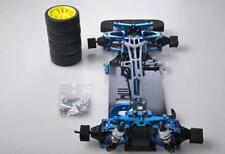 1/10 scale shaft-driven RC touring car chassis conversion kit for Tamiya TT01