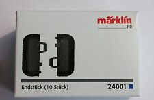 Marklin 24001 C Track End Pieces with Roadbed, Box of 10, SuperFast US Shipping!