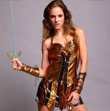 SEXY GLADIATOR WARRIOR Complete COSTUME Hen night Party Dress.CT0071