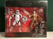 STAR WARS THE BLACK SERIES 6 INCH POE DAMERON AND STORMTROOPER