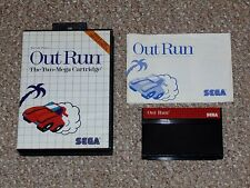 Out Run Sega Master System Complete